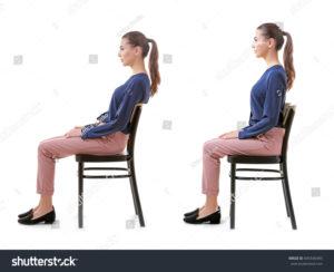 良い座り姿勢と楽だが悪い姿勢